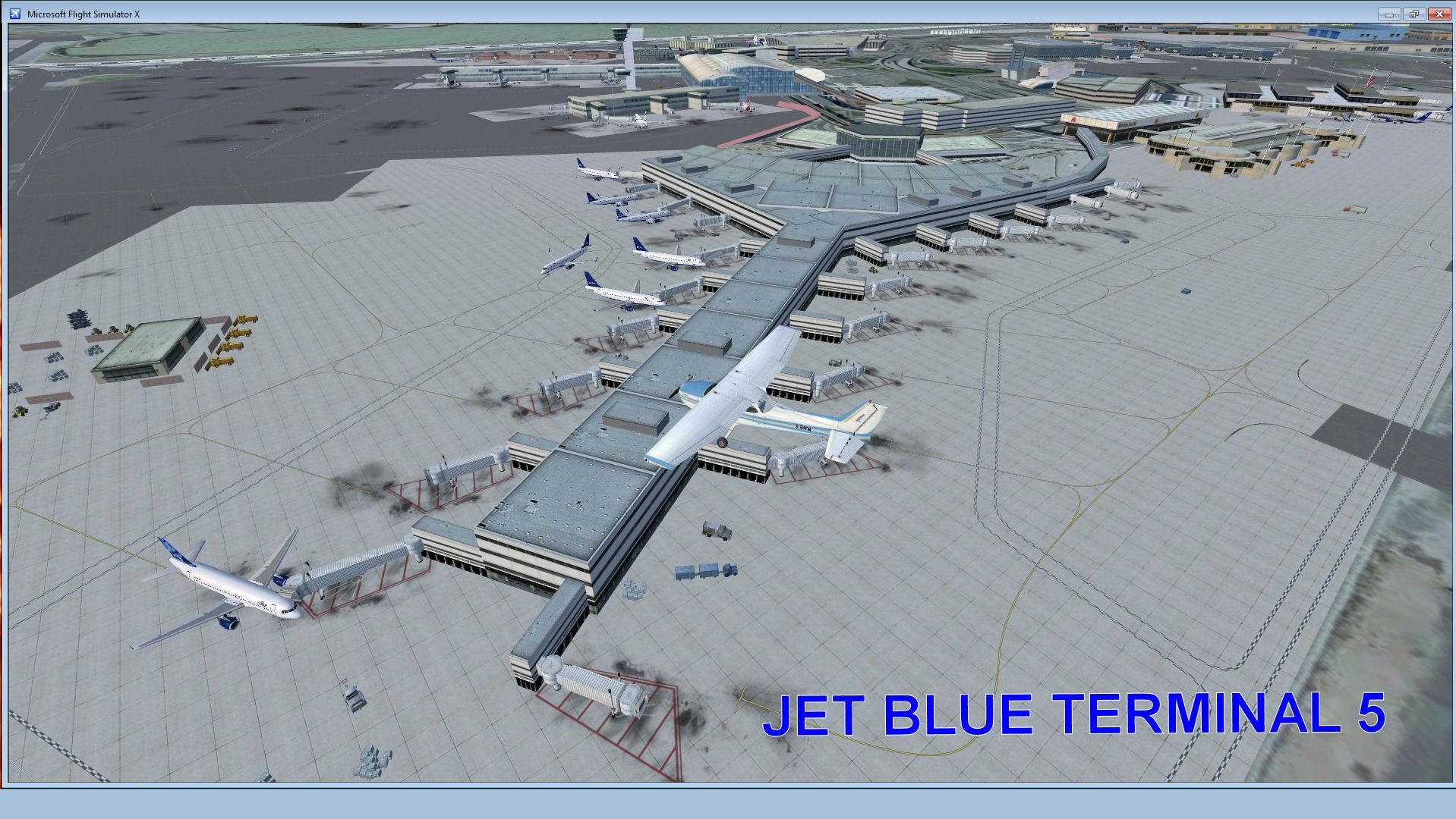 DOWNLOAD JFK Photo Real Scenery FSX & P3D - Rikoooo