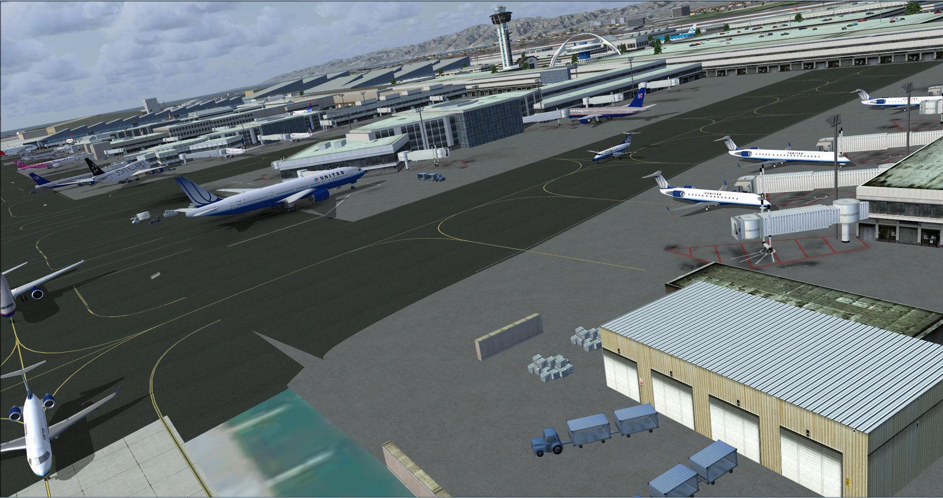 DOWNLOAD KLAX - Los Angeles Intl Airport Photoreal FSX & P3D