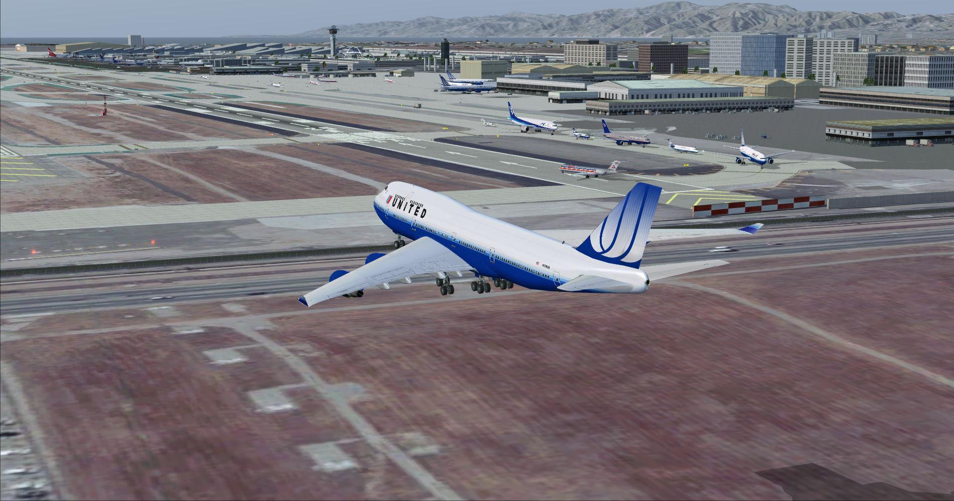 DOWNLOAD KLAX - Los Angeles Intl Airport Photoreal FSX & P3D - Rikoooo
