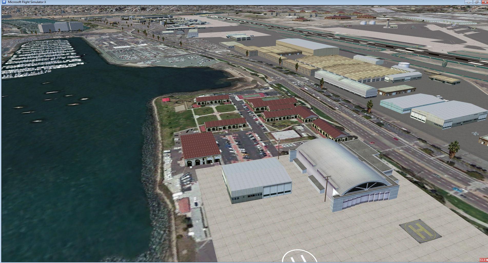 DOWNLOAD KSAN San Diego Photo Real Scenery FSX & P3D - Rikoooo