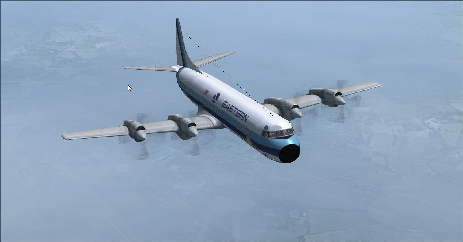 DOWNLOAD Lockheed L-188 Electra Passenger & Cargo FSX ...