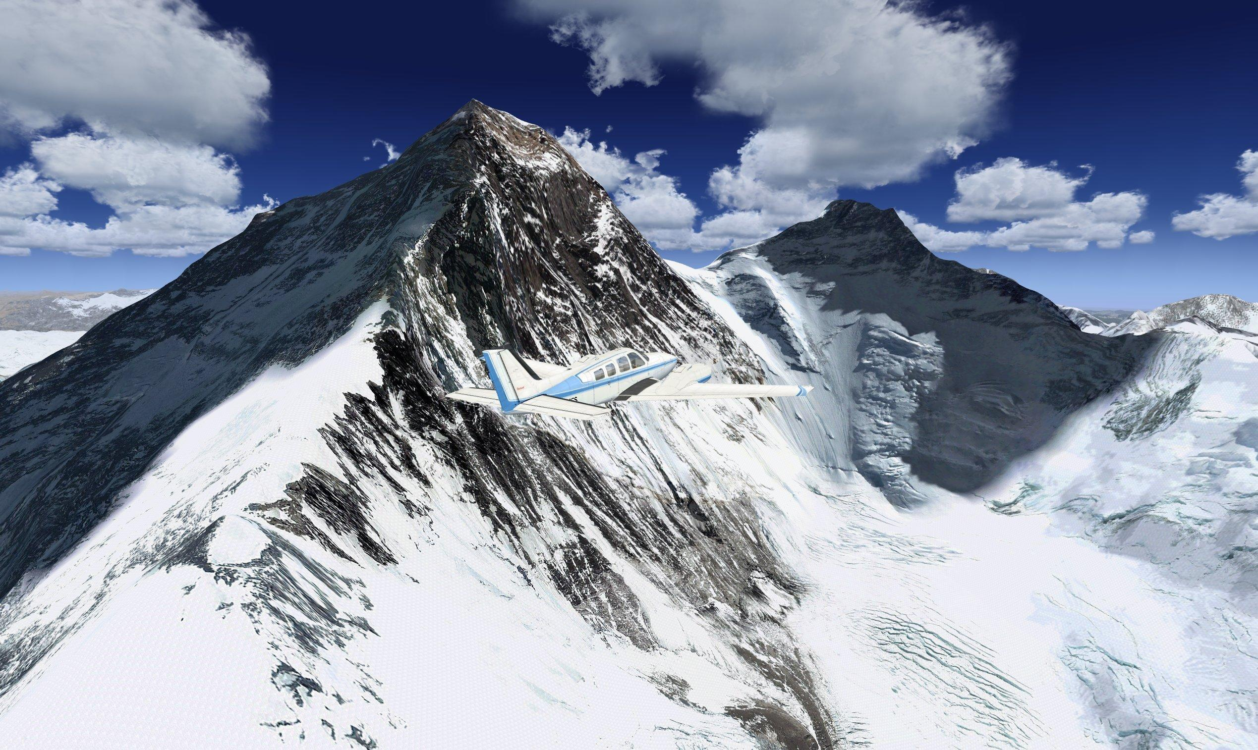 DOWNLOAD Photoreal Mt Everest plus Mesh FSX & P3D - Rikoooo