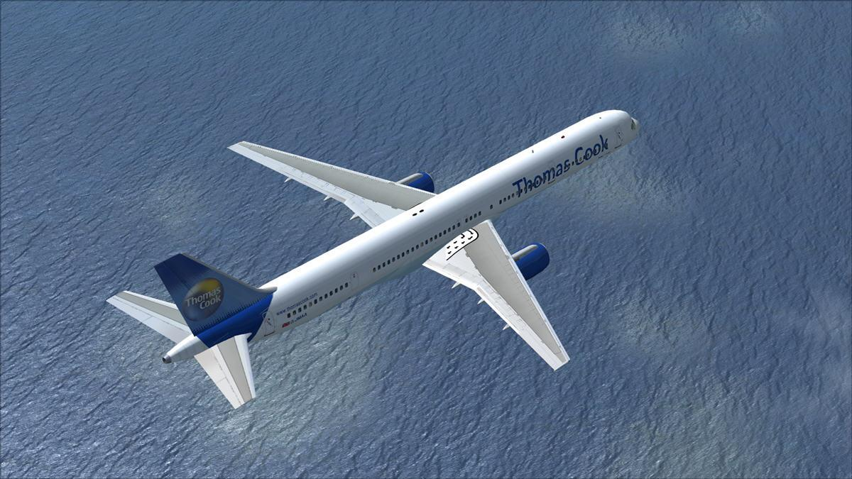 DOWNLOAD POSKY Boeing 757-300 Thomas Cook FSX - Rikoooo