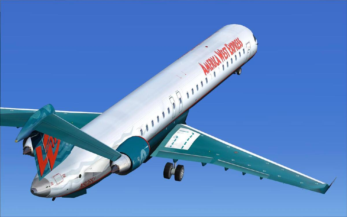 POSKY Bombardier CRJ 900 FSX