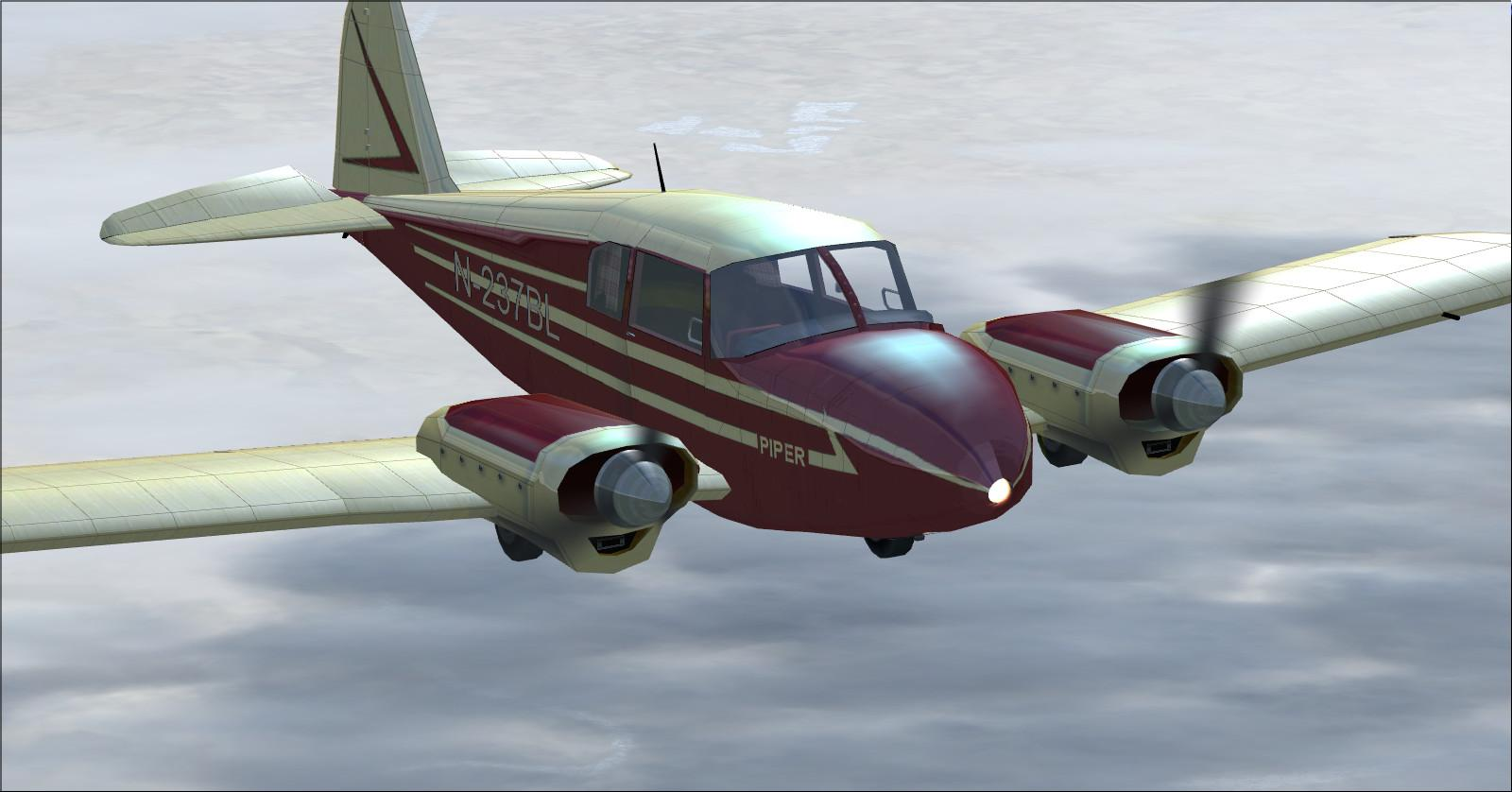 DOWNLOAD Piper Apache 150 year 1954 FSX & P3D - Rikoooo