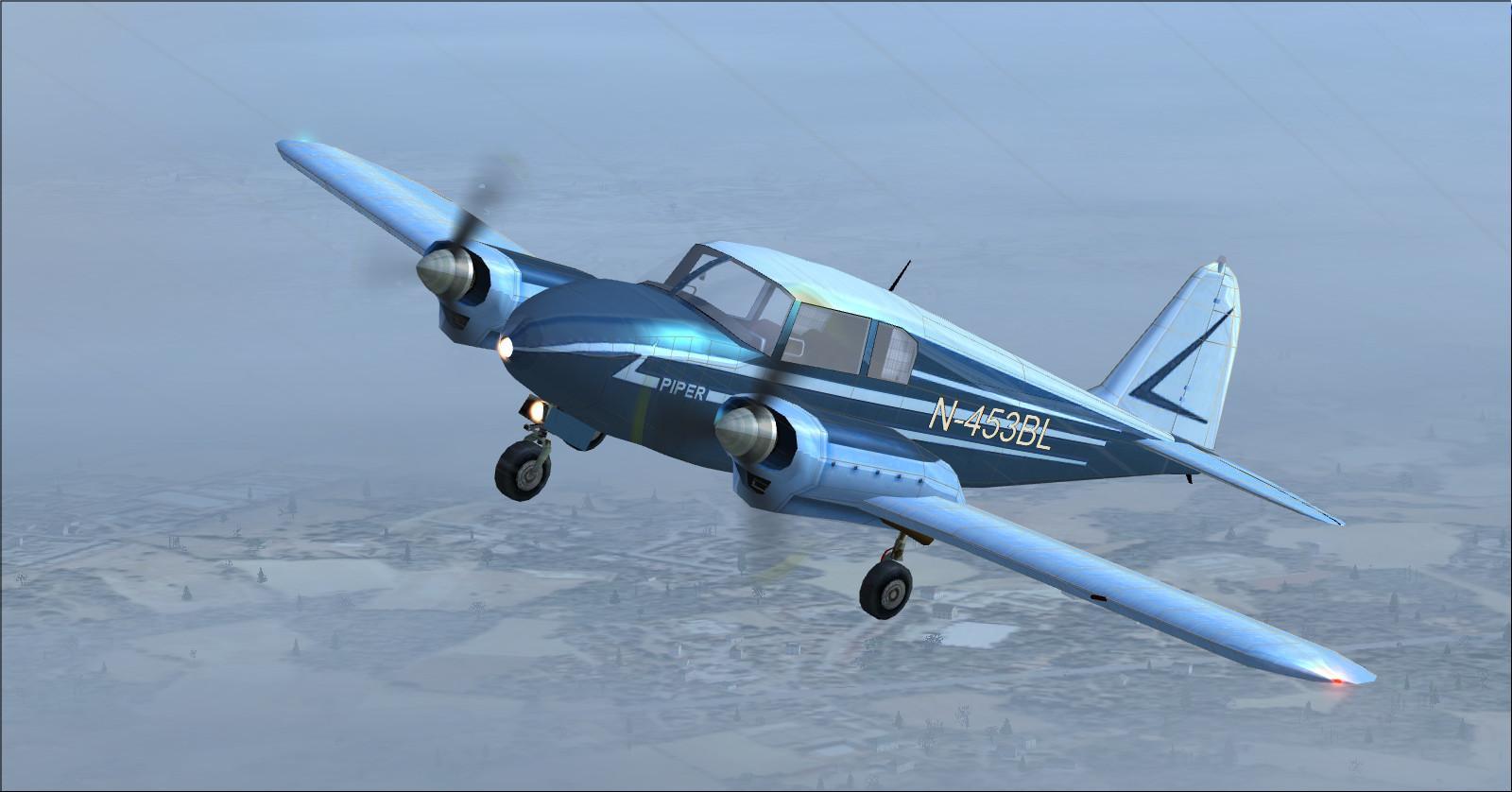 DOWNLOAD Piper Apache 150 year 1954 FSX & P3D - Rikoooo