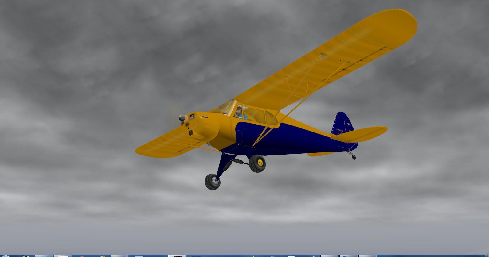 DOWNLOAD Piper PA-11 Cub Special X-Plane 10 - Rikoooo
