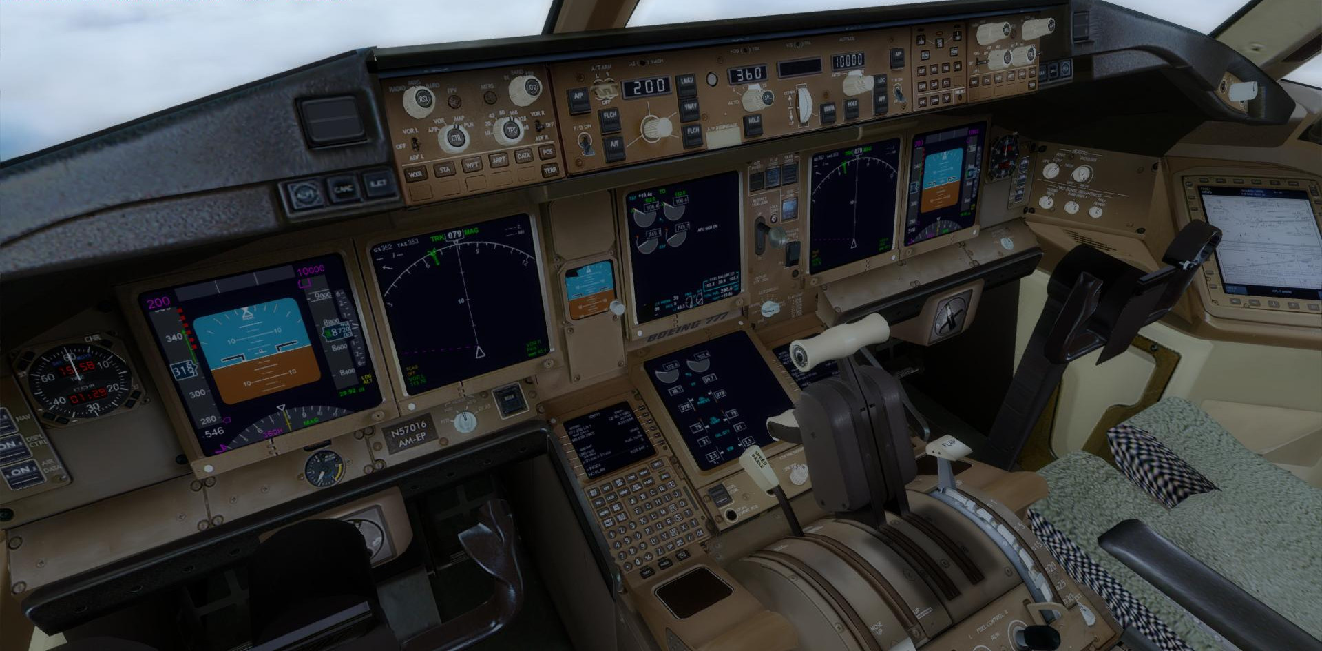 DOWNLOAD Pacote Ultimate Boeing 777-200ER FSX P3D - Rikoooo