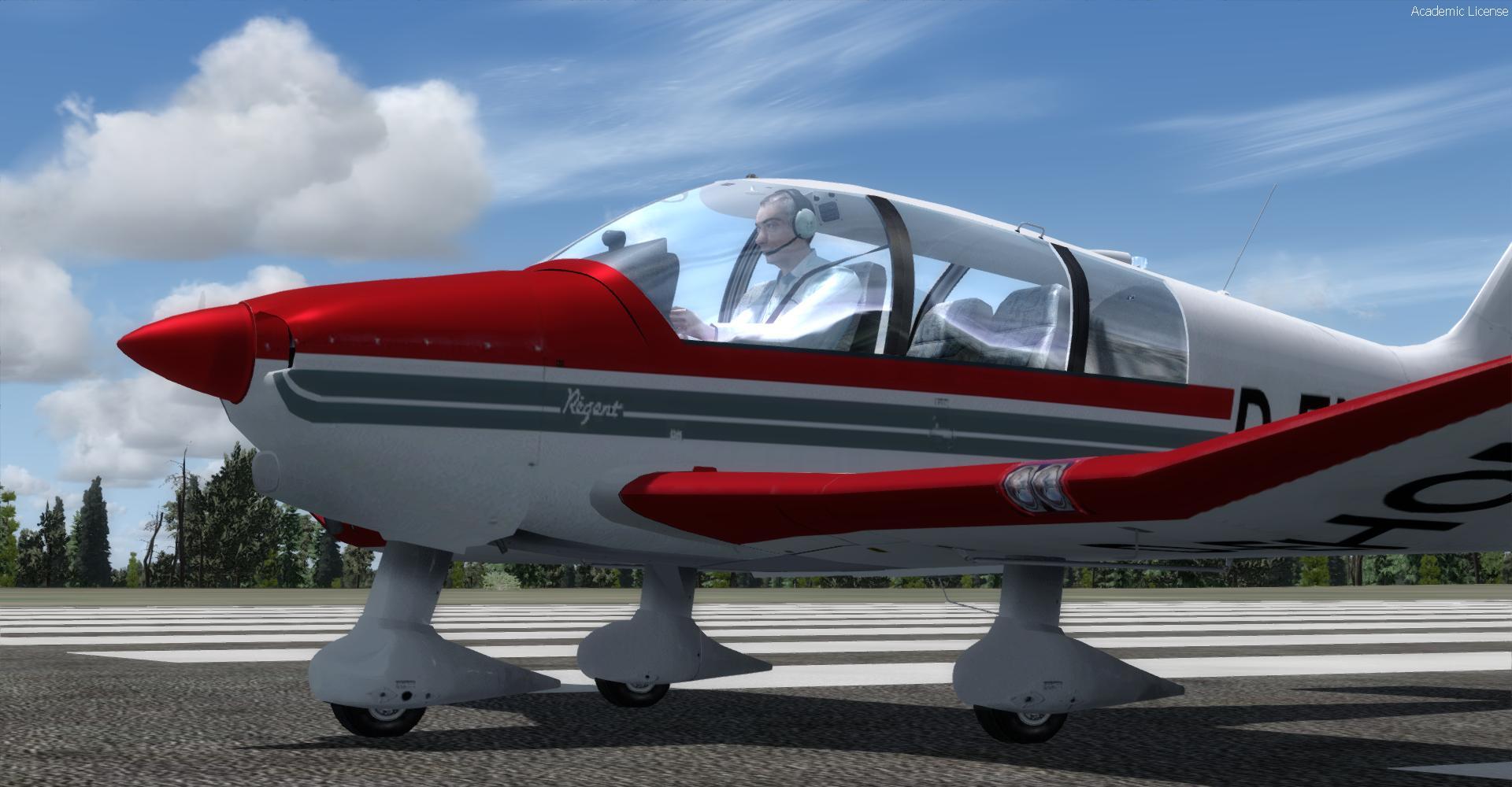 DOWNLOAD Robin DR400 Regent P3Dv4 - Rikoooo
