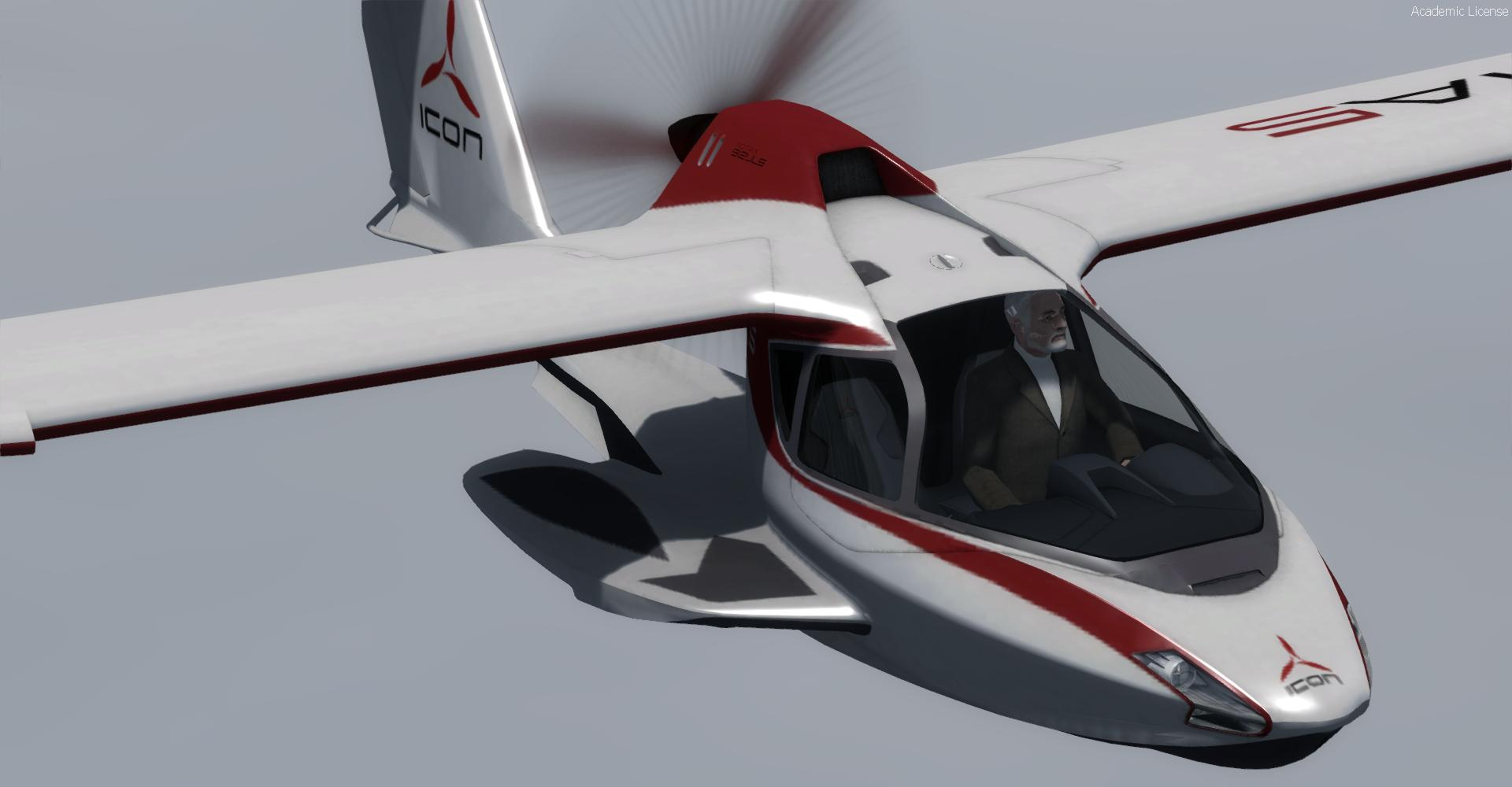 DOWNLOAD Icon Aircraft A5 FSX & P3D - Rikoooo