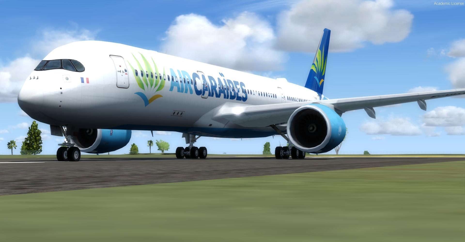 DOWNLOAD Airbus A350-900 XWB Multi Livery Pack FSX & P3D - Rikoooo