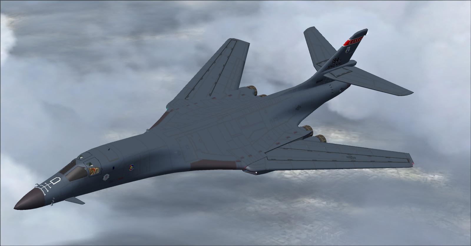 DOWNLOAD Rockwell B-1B Lancer AlphaSim FSX - Rikoooo