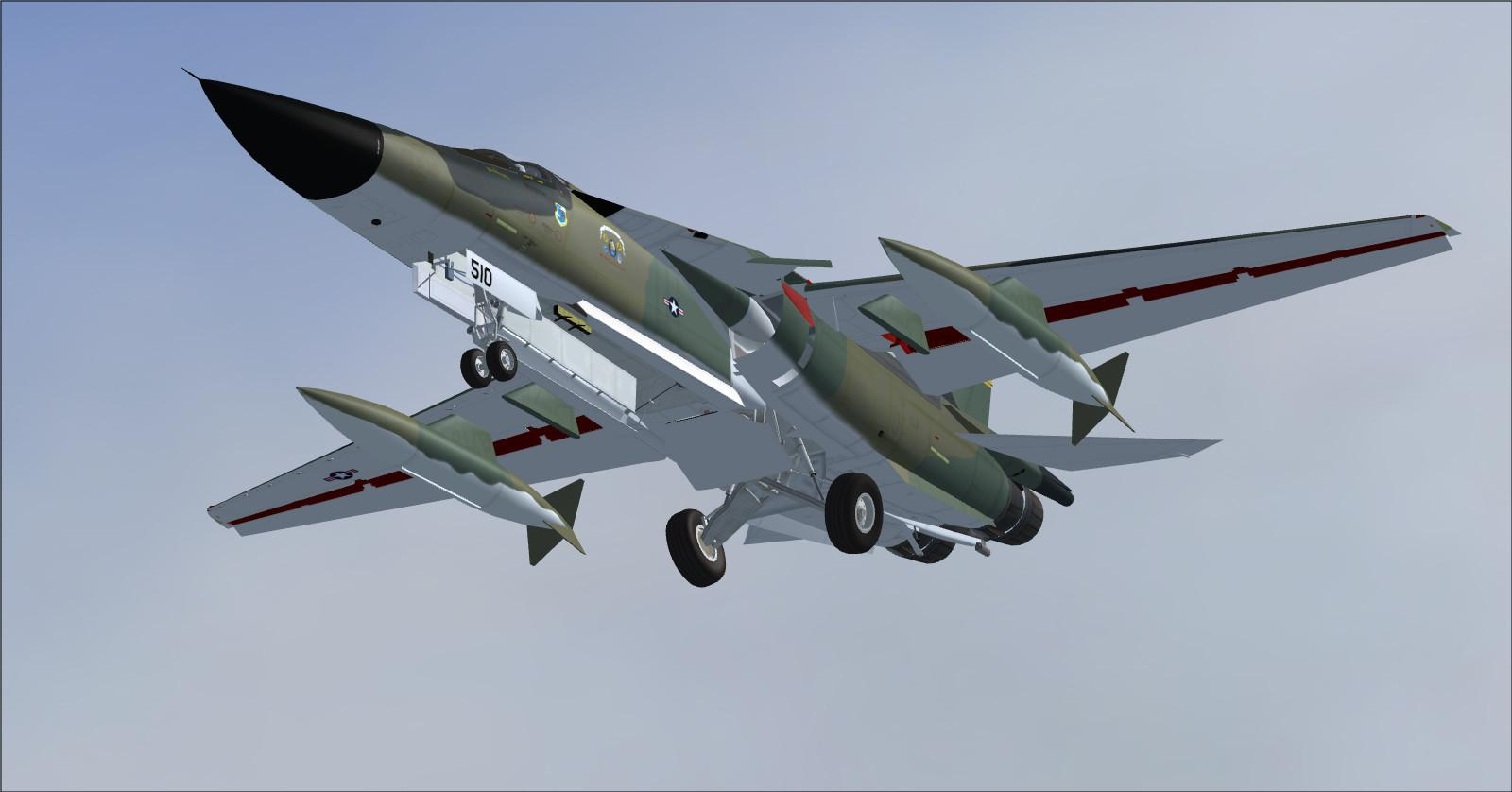 DOWNLOAD SHRS F-111 Aardvark FSX SP2 & P3D - Rikoooo