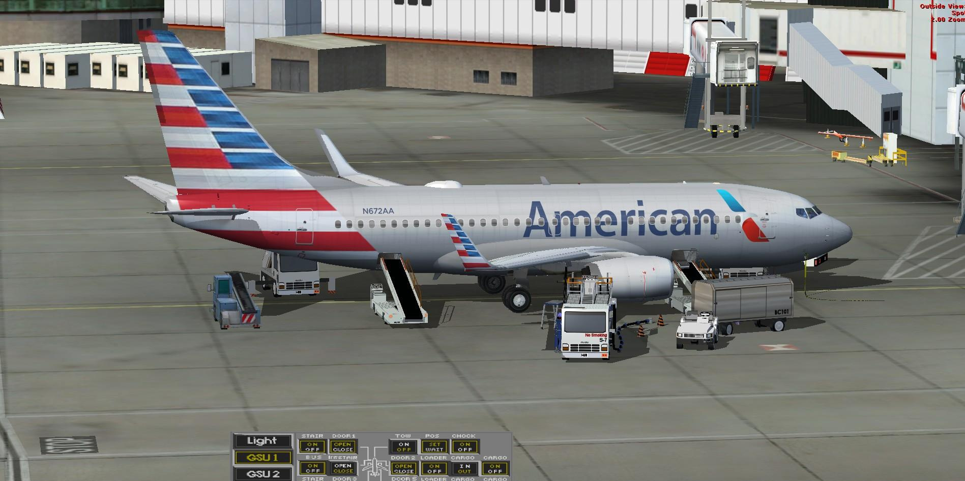 DOWNLOAD TDS Boeing 737-700 American Airlines FSX & P3D - Rikoooo