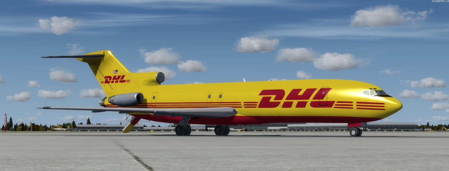 download boeing 727 200 dhl fedex fsx p3d rikoooo. Black Bedroom Furniture Sets. Home Design Ideas