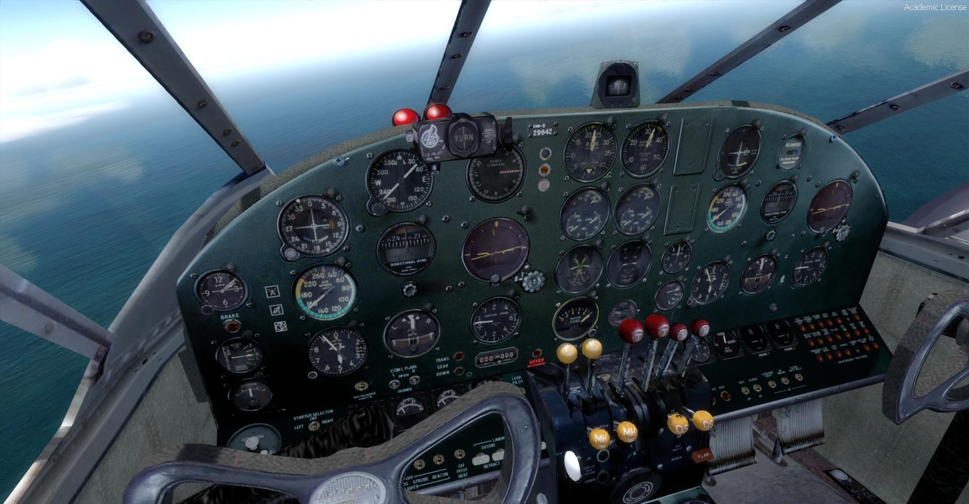 DOWNLOAD Beechcraft D18S Amphibian FSX - Rikoooo
