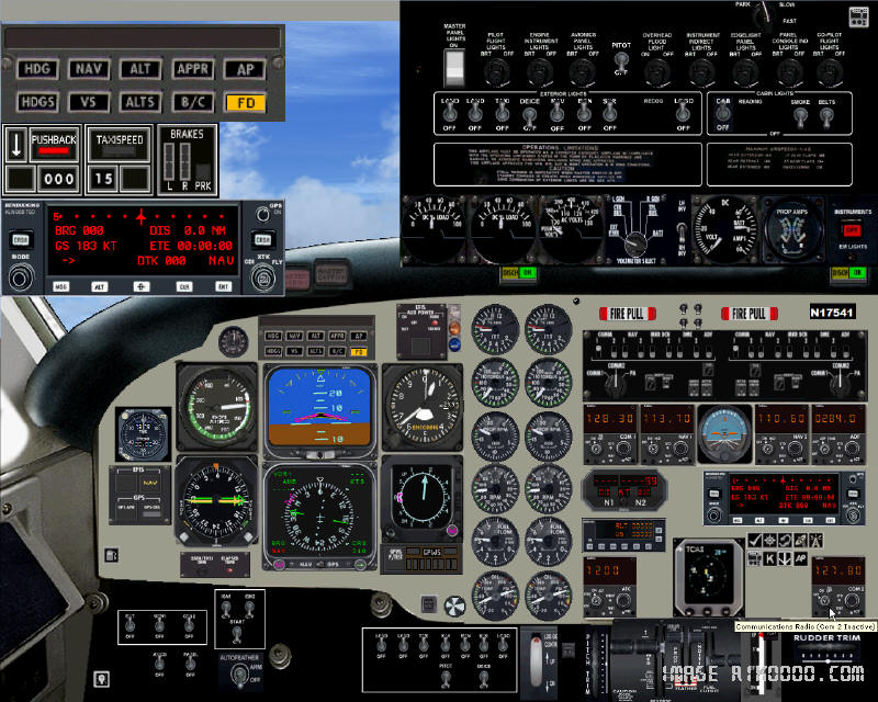 DOWNLOAD Beechcraft B1900D Regional Airliner FSX - Rikoooo
