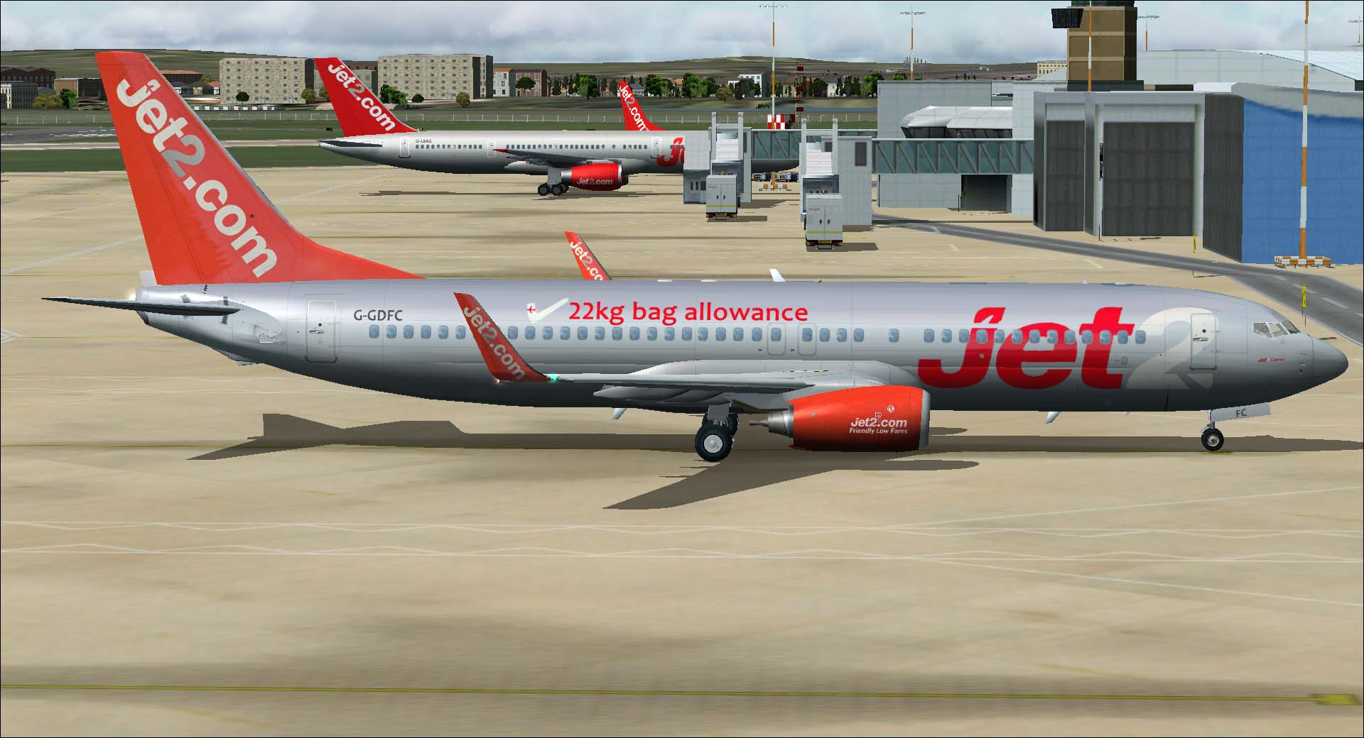 DOWNLOAD Boeing 737-800 Jet2 com Package FSX & P3D - Rikoooo