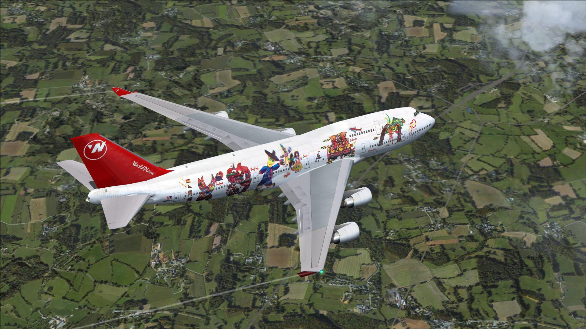 DOWNLOAD Boeing 747-400 Mega Package Vol 5 FSX & P3D - Rikoooo