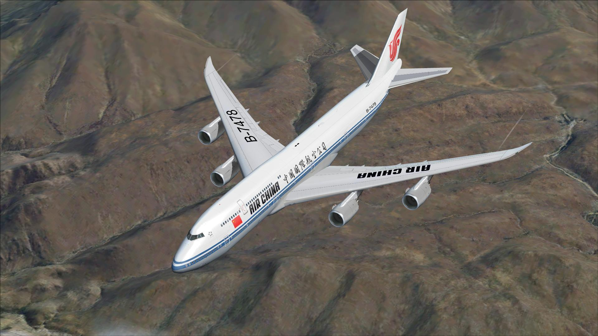 DOWNLOAD Boeing 747-8i Air China Package FSX & P3D - Rikoooo