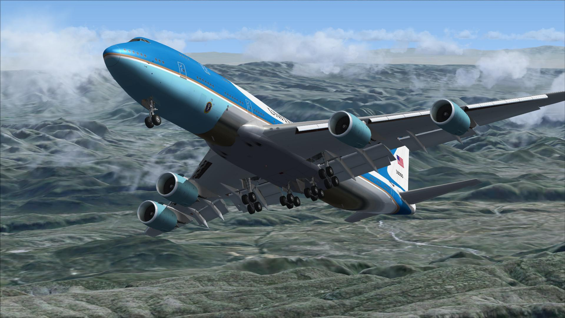 Floor Plan 3d Free Download Download Boeing 747 8i Air Force One Package Fsx Amp P3d