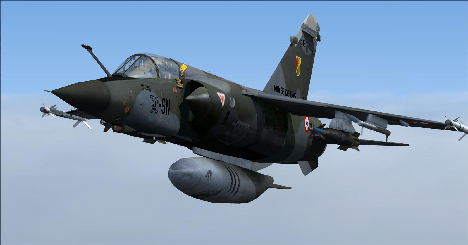 DOWNLOAD Dassault Mirage F1 Mega Pack FSX & P3D - Rikoooo