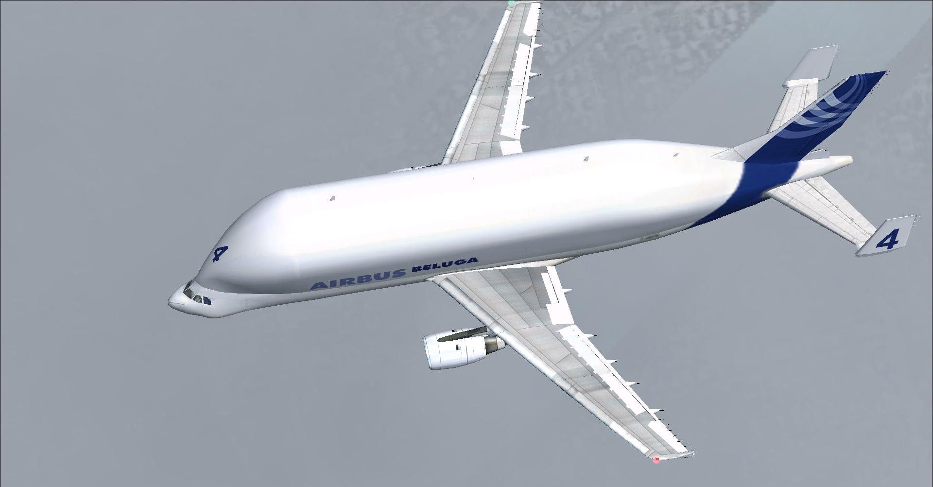 Beluga Airbus Fsx