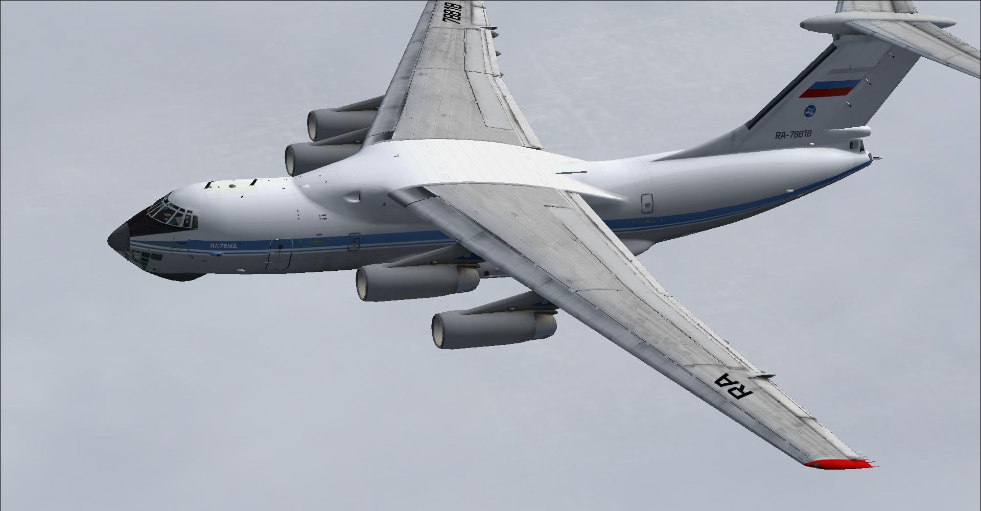 DOWNLOAD Ilyushin IL-76 FS2004 - Rikoooo