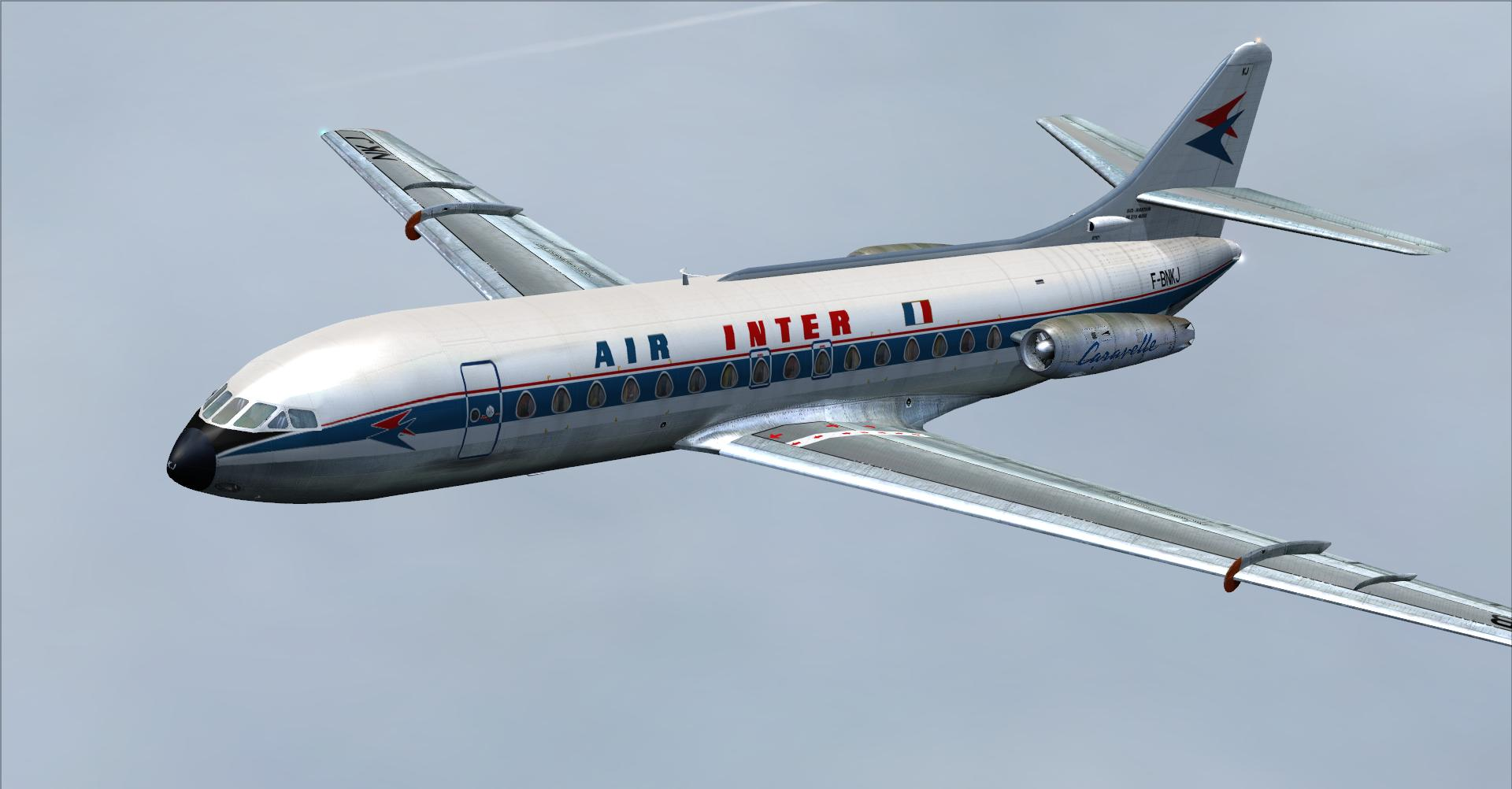 DOWNLOAD AFG Caravelle III SE-210 FSX & FSX-Steam - Rikoooo