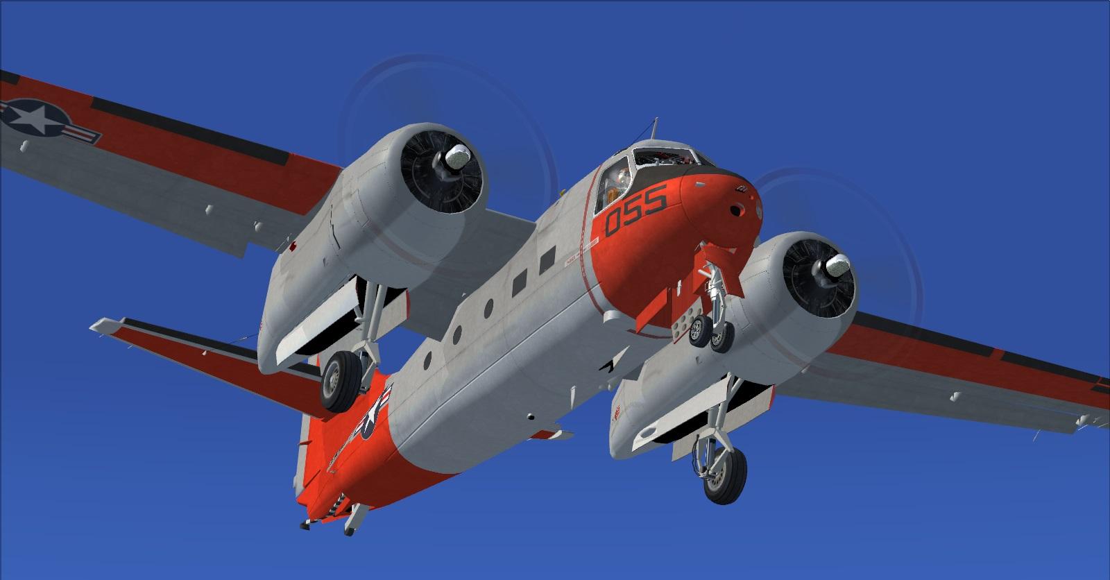 DOWNLOAD Grumman C1-A Trader FSX& P3D - Rikoooo