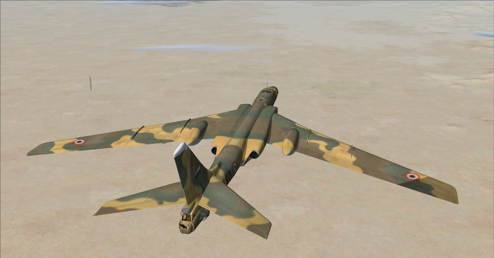 Here is a new adaptation for FSX of the add-on of the Russian Bombardier Tu-16 Badger