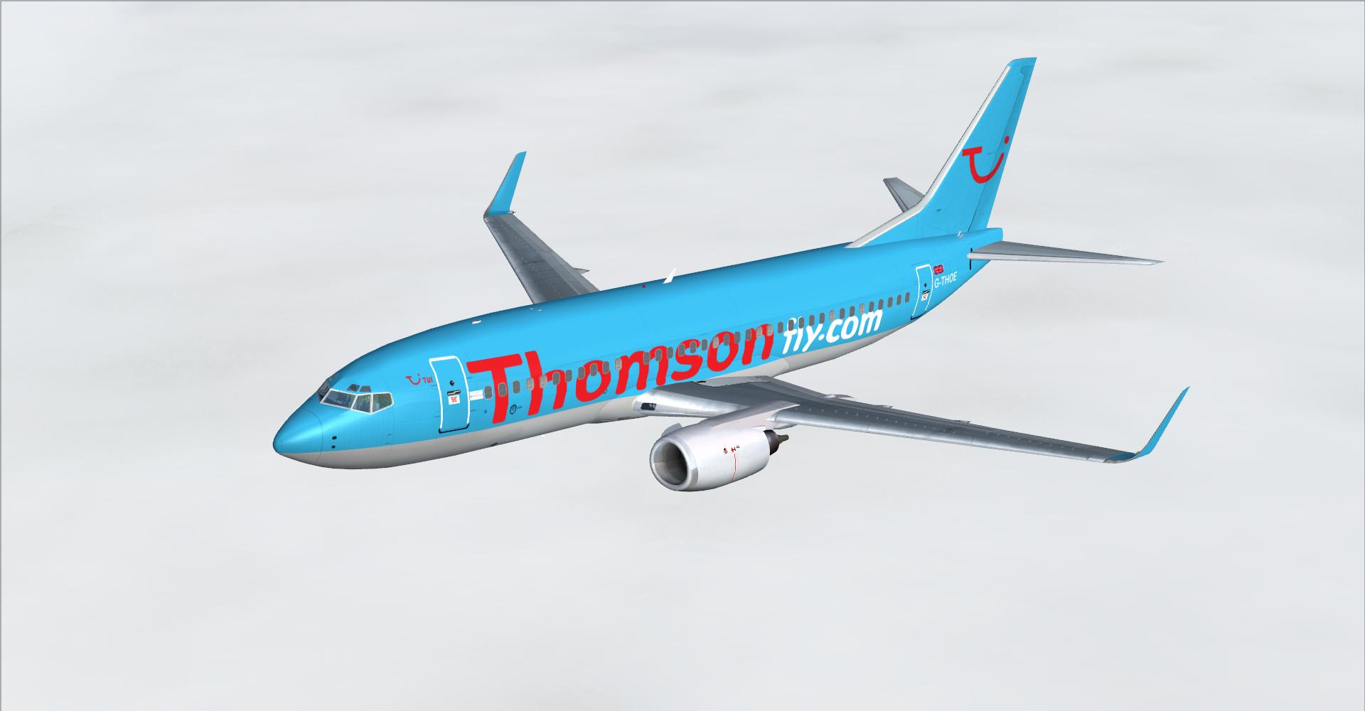 DOWNLOAD Boeing 737 Classic Multi Livery Pack FSX & P3D - Rikoooo
