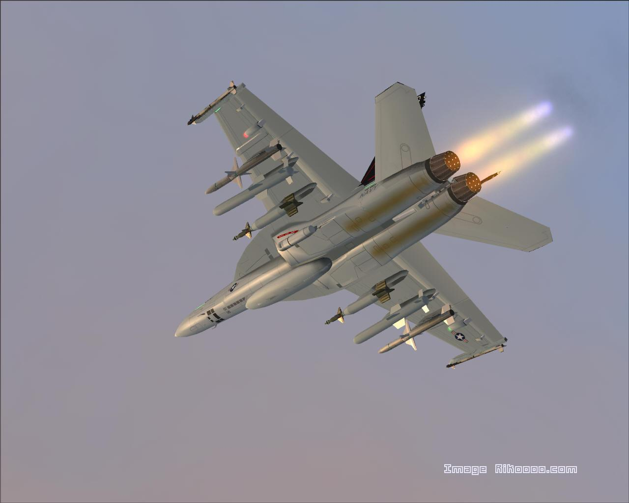 F18 Super Hornet Top Speed - 0425