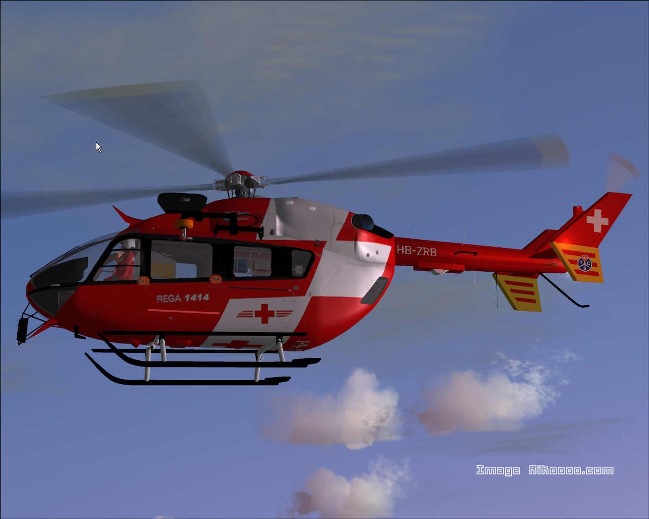 DOWNLOAD Eurocopter EC145 REGA Swiss Air Rescue FS2004 ...