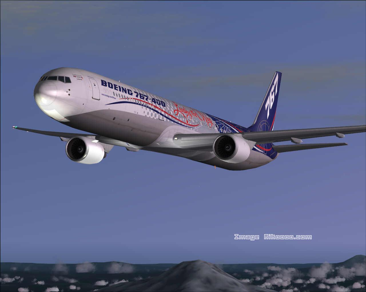 DOWNLOAD Boeing 767-400 World Tour FS2004 - Rikoooo