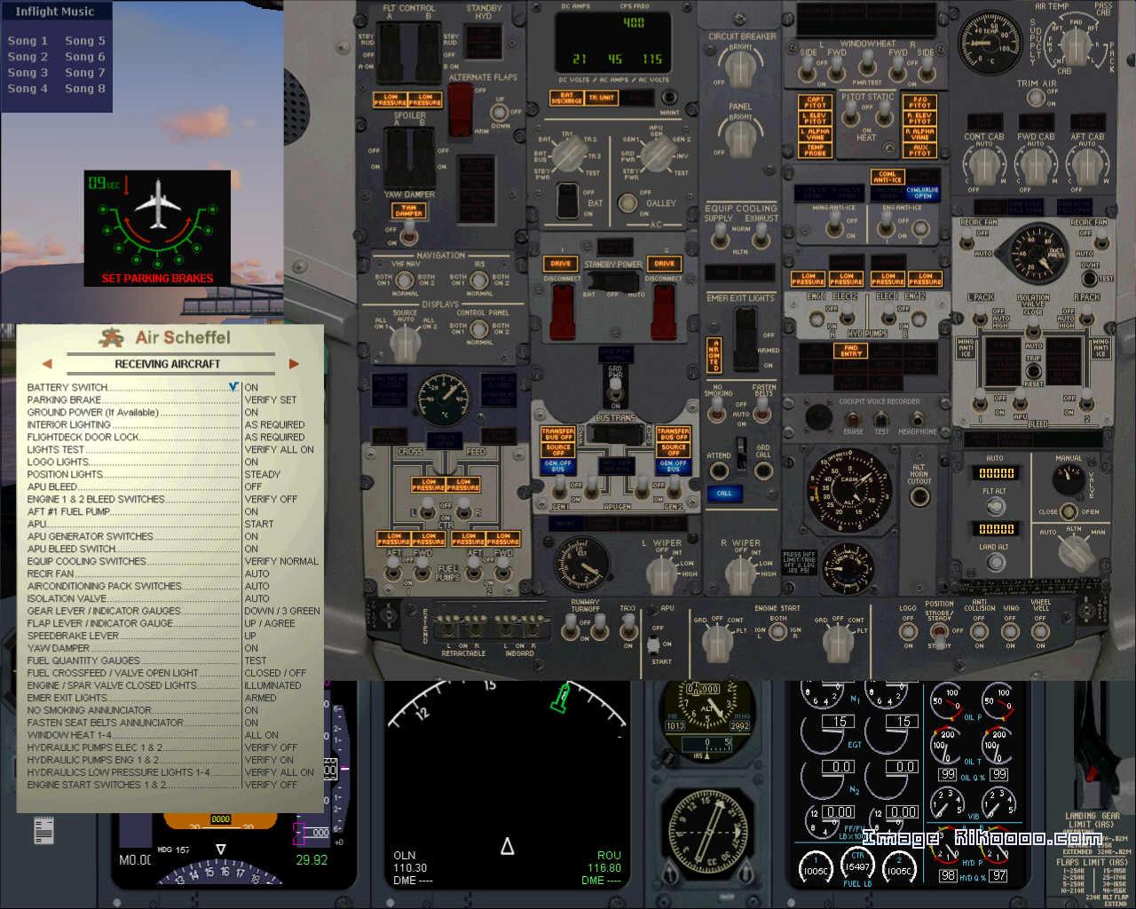 painel para boeing 737-800 fs2004