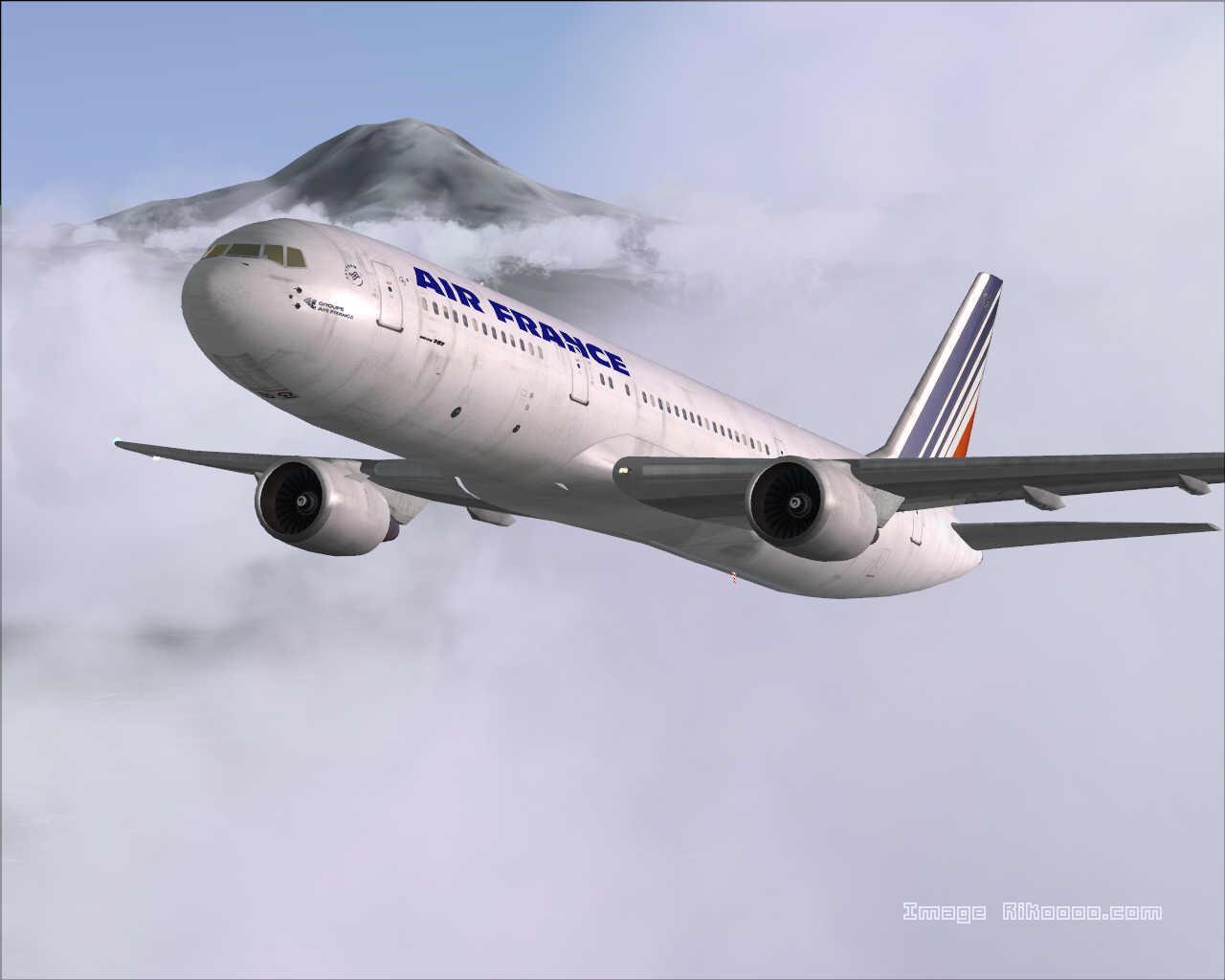 DOWNLOAD Boeing 767-300ER Air France FS2004 - Rikoooo