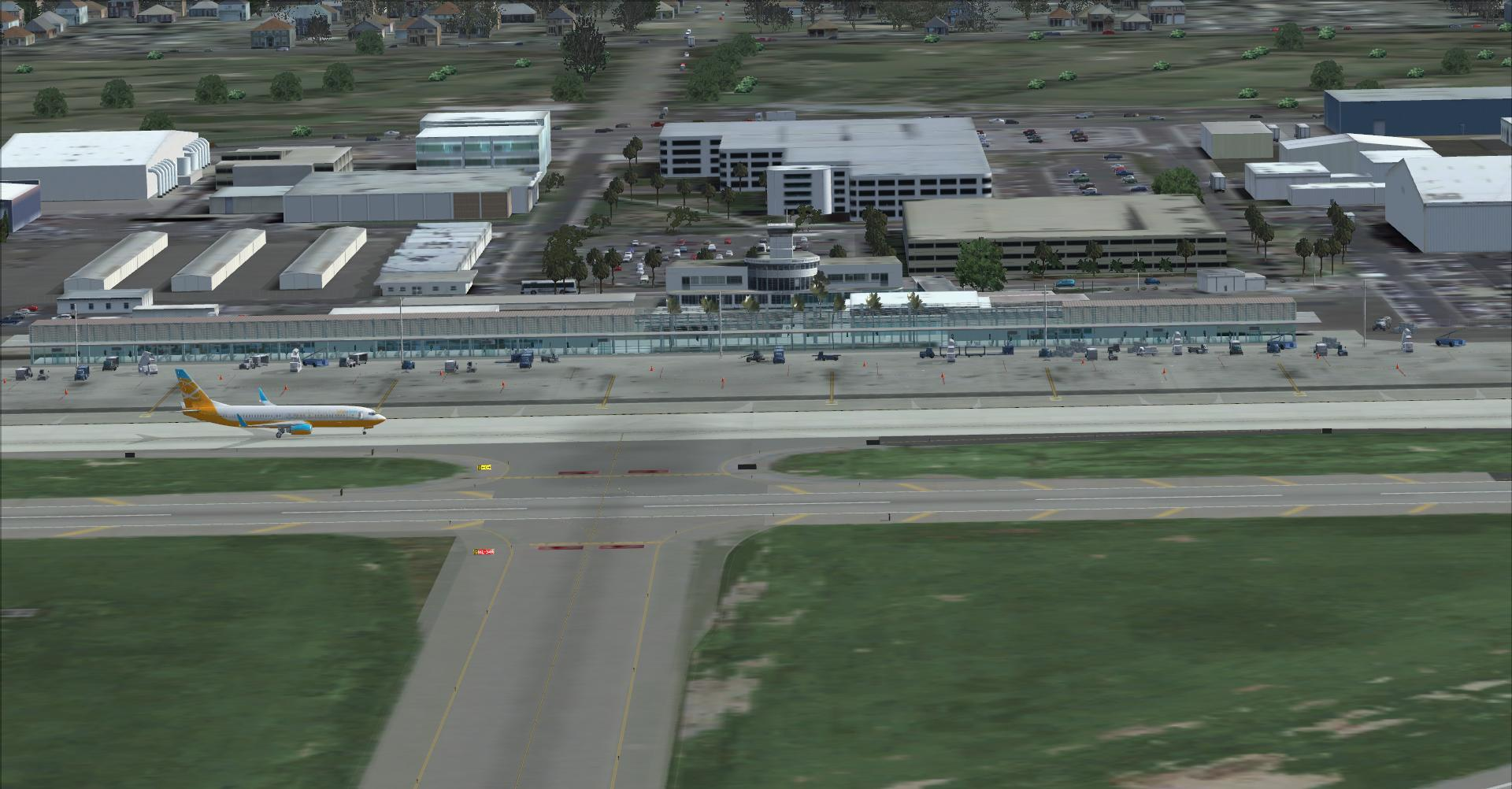 DOWNLOAD Long Beach Airport FSX & P3D - Rikoooo