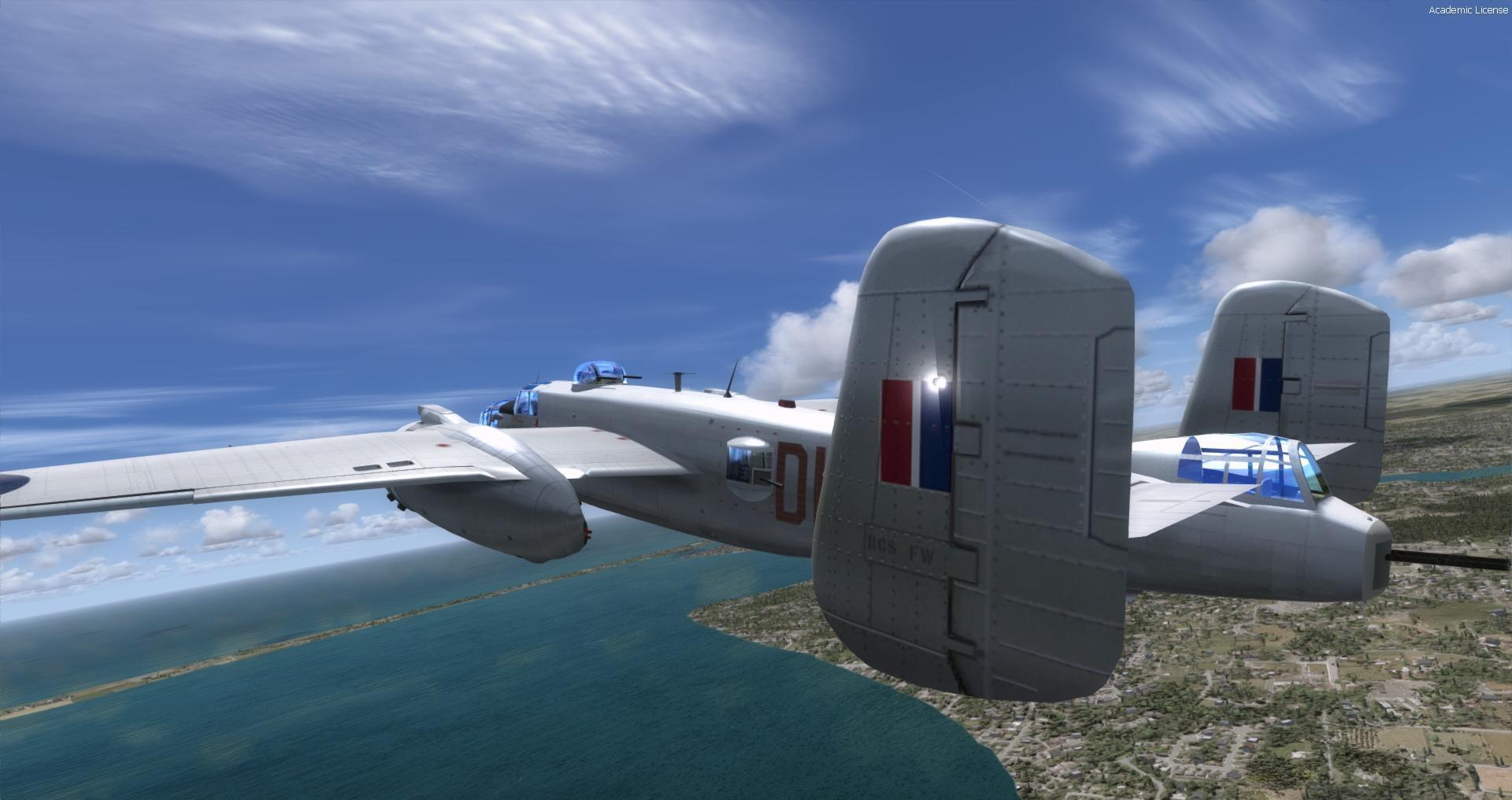 DOWNLOAD North American B-25J RAF MkII FSX & P3D - Rikoooo