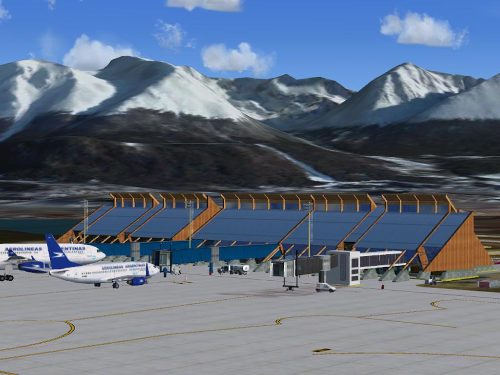 Aeroporto Ushuaia : TÉlÉcharger ushuaia malvinas argentinas intl airport fsx