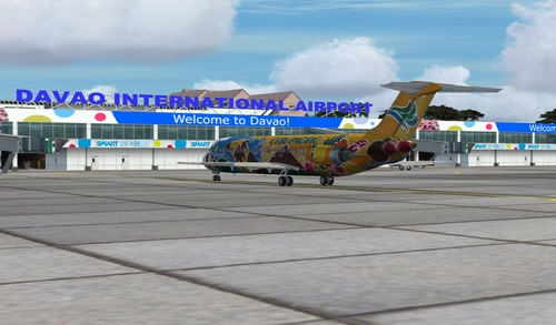 Davao International Airport Rizgari & P3D