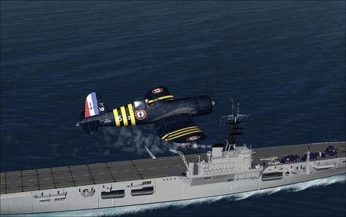 Chance Vought F4U-6 and 7 Corsair FSX & P3D