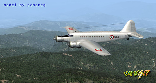 Fiat Fiat Aviation G.12 FSX & P3D