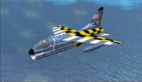 A-7E / H Corsair Heliiki Air Force FSX