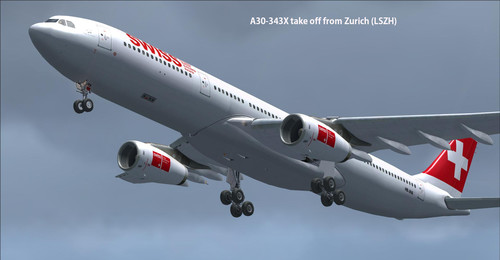 Vloot Swiss International Air Lines FSX & P3D