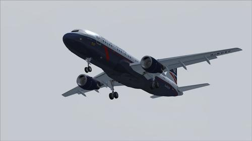 Airbus A320-111 British Airways Ландор FS2004