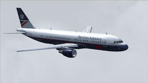 Airbus A320-111 British Airways Landor FS2004