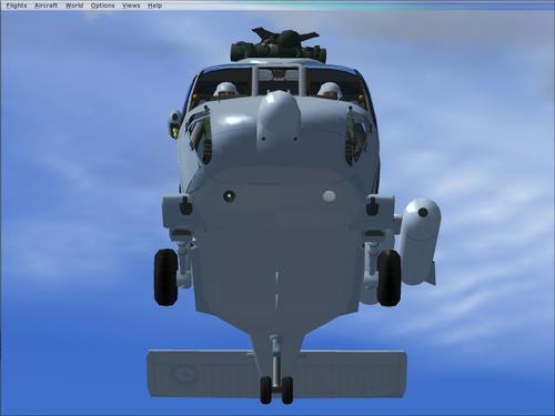S-70B-6 AELODAU AELODAU NAVY FSX