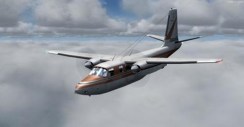 Aero Commander Collection Pack FSX in P3D