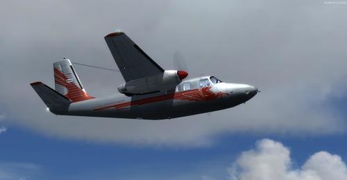 Aero Commander Collection -paketti FSX  &  P3D